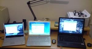 Trzy laptopy - którywybrać?