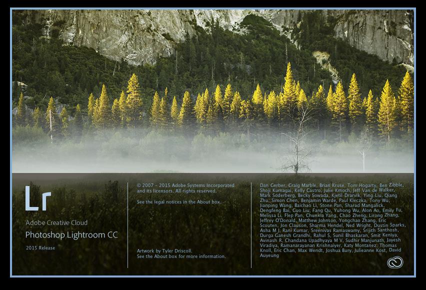 Lightrom CC, Release 2015